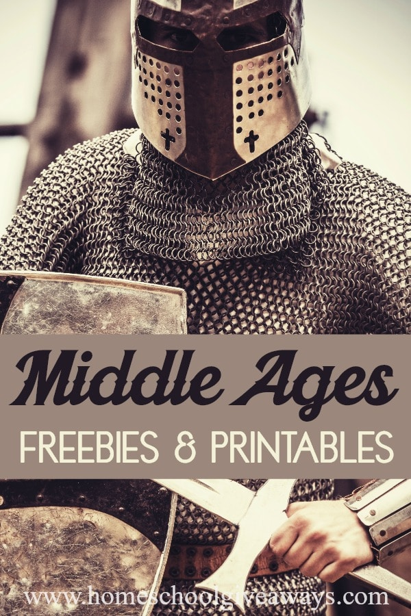 Photo of Middle Ages History FREEBIES and Printables – Homeschool Giveaways