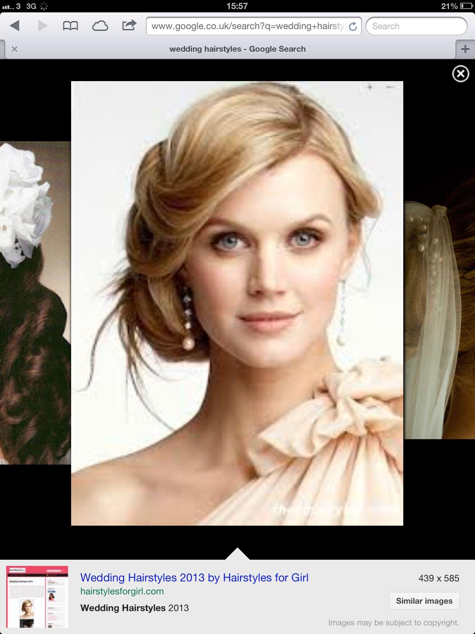 Side bun wedding hair pinterest up dos
