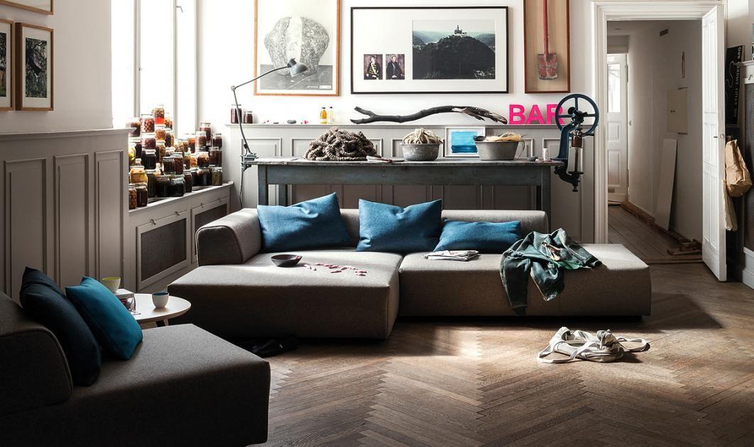 Lieblings-Sofas - Polstermöbel aus Leder und Stoff: Sofa \