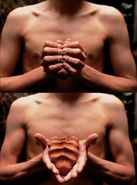 Mis manos son mi corazón Gabriel Orozco