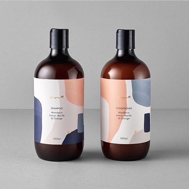 Studio AC  Packaging Inspo on Instagram Is this not the best hair care packaging youve ever seen The colour palette is driving us wild Design by ortolandesign   care