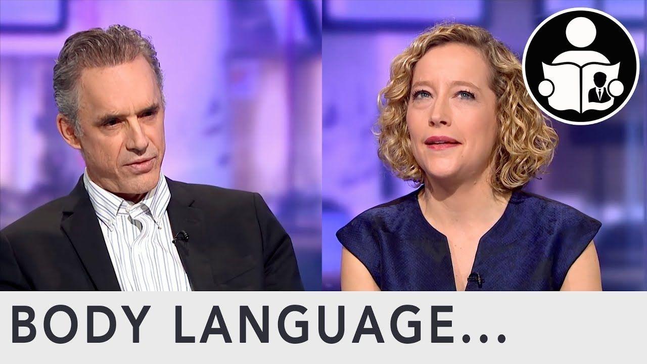 Buena suerte Mostrarte norte  Body Language: Jordan Peterson Interview Channel 4   Body language,  Interview, Body