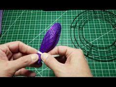 JKatsKreations Daisy Petal Flower Wreath Tutorial (Basic Version)