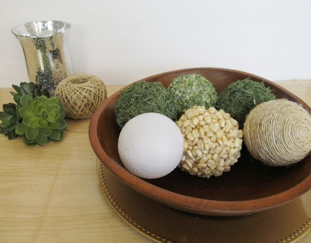 Diy Decor Balls Impressive Diy Decorative Balls  The Pearl Blog  Just To Be Crafty Decorating Inspiration