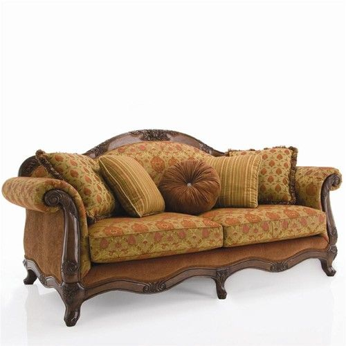 Ashley Furniture Ontario: Decor-Rest Upholstered Accents Traditional Exposed Wood