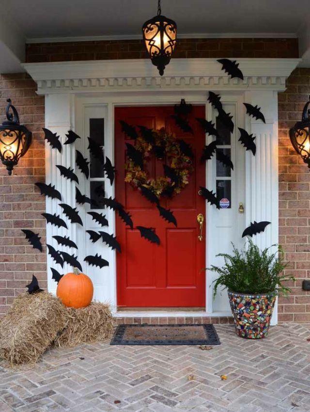 30 besten Halloween Porch Dekorationen Ideen #halloweendecorations