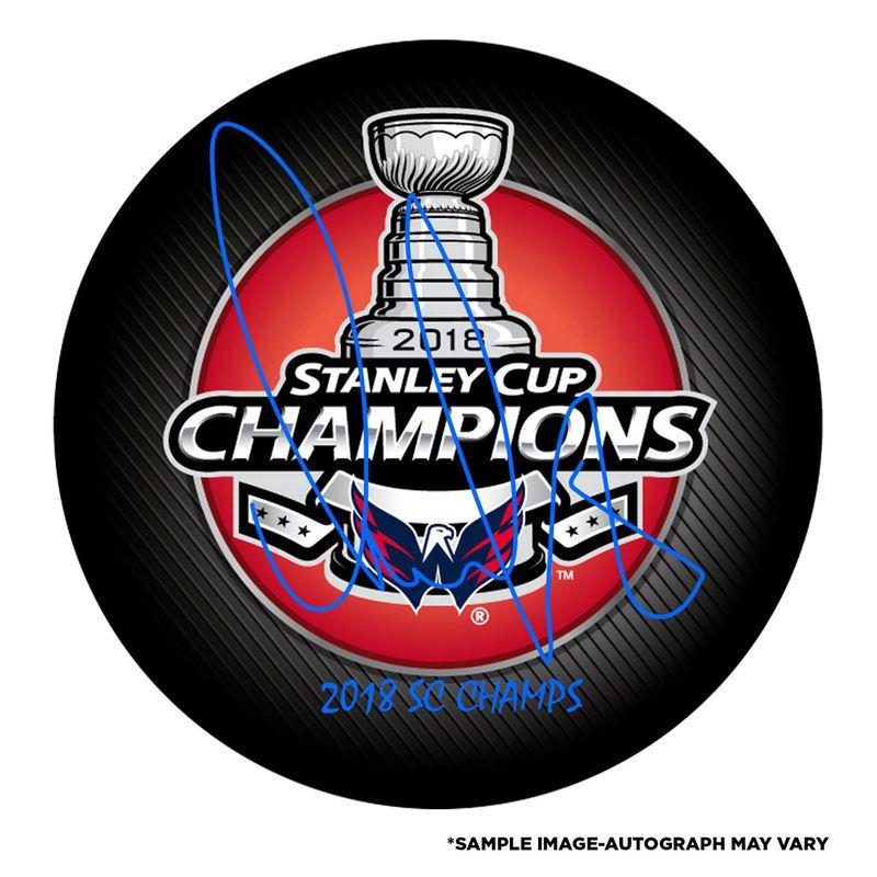 bf852846a6c Alex Ovechkin Washington Capitals Fanatics Authentic 2018 Stanley Cup  Champions Autographed Stanley Cup Champions Logo Hockey Puck with 2018 SC  Champs ...