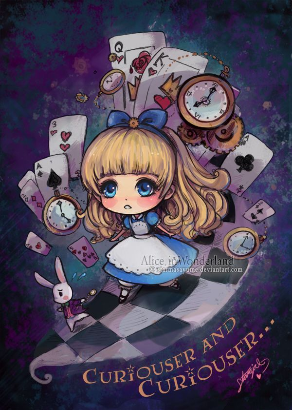 Alice In Wonderland Chibi By Starmasayume On Deviantart Con