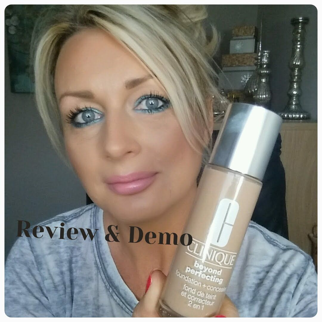 CLINIQUE BEYOND PERFECTING FOUNDATION+CONCEALER REVIEW AND