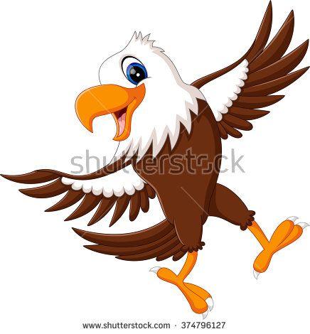 Cartoon Eagle Stock Vectors Vector Clip Art Eagle Cartoon Cartoon Birds Eagle Drawing