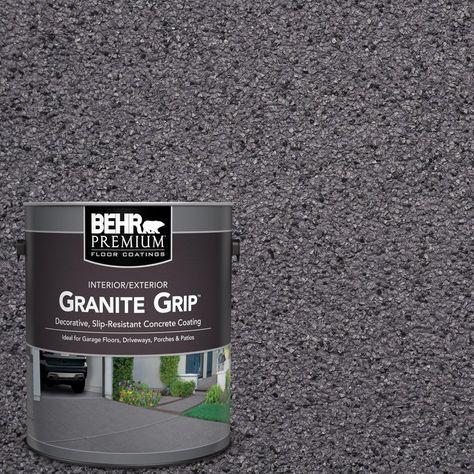 Behr Premium 1 Gal Gg 06 Vineyard Rock Decorative Concrete Floor