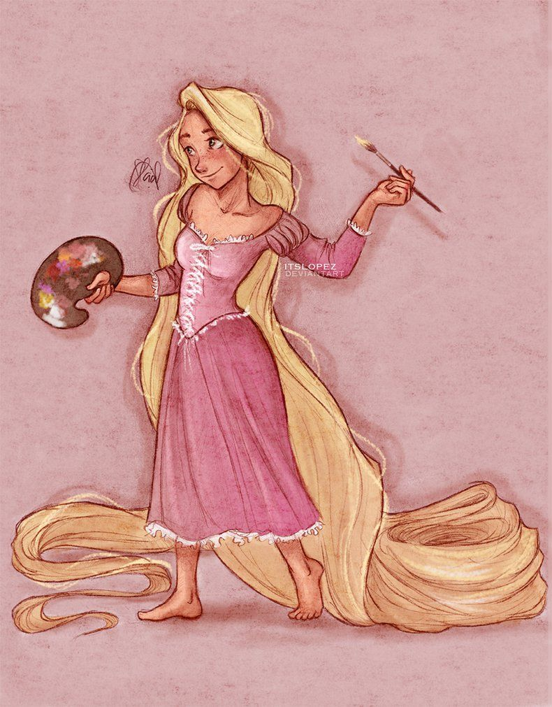 Rapunzel by itslopez on deviantART