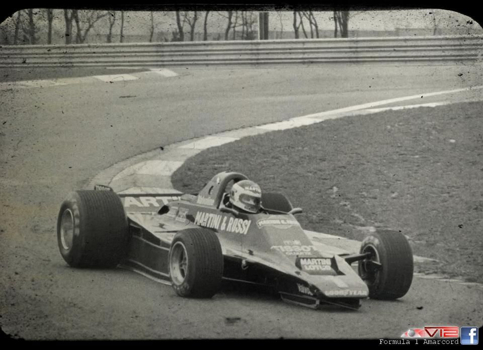 Carlos Reutemann Tested Lotus Without Wings Formula