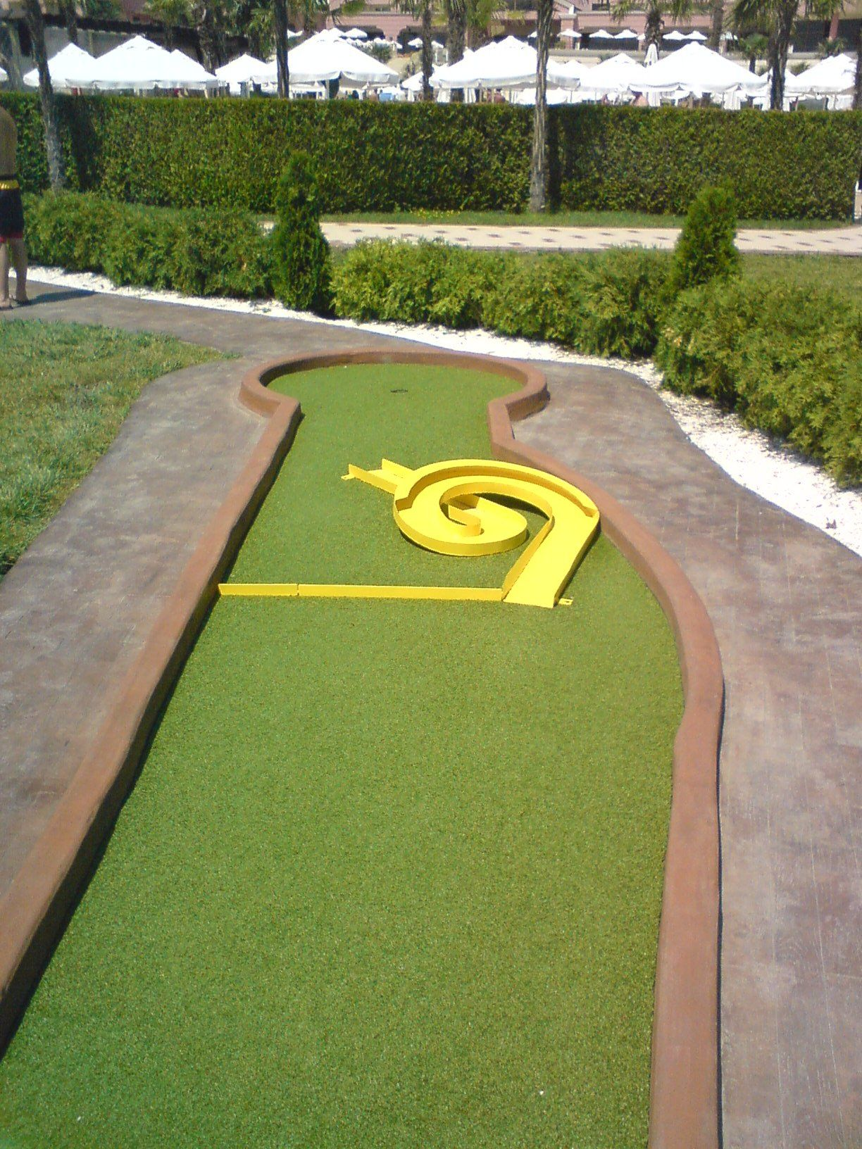 A Course We Have Build Or Made Mini Golf Course Miniature Golf Course Golf Courses