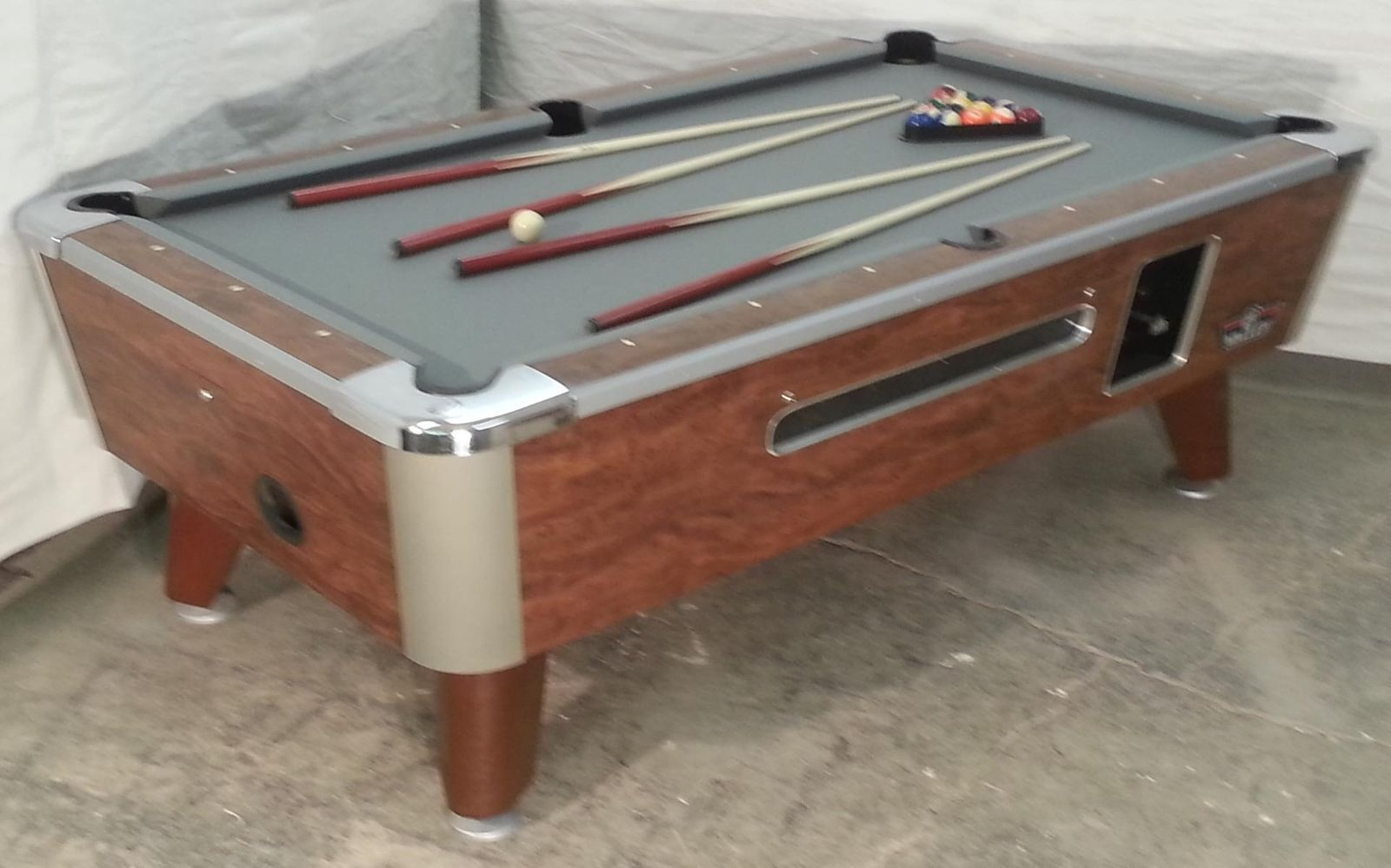 Valley Commercial Coinop Bar Size Pool Table Model Zd Refurb - Valley pool table models