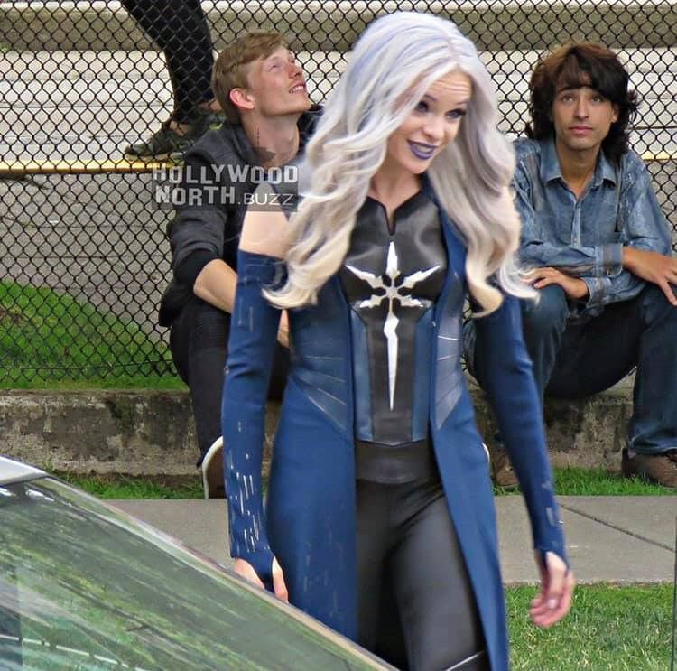 Killer Frost Caitlin Snow Costume Cosplay Halloween Girl Fancy Dress Outfits