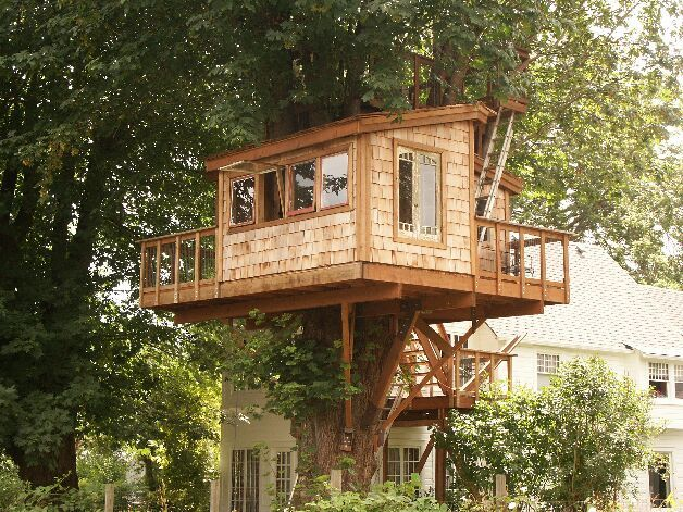 17 Best 1000 images about Treehouse on Pinterest Cubby houses House
