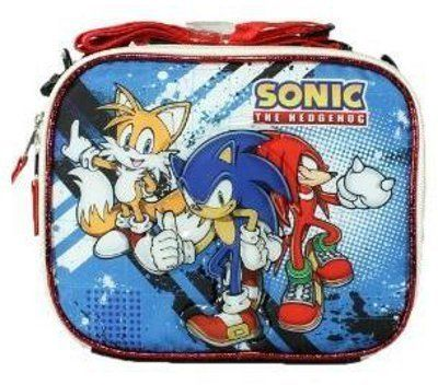Sonic The Hedgehog Insulated Lunch Bag Lunch Box By Ai 7 72 Handle Adjustable Strap For Shoulder Carry Insulated L Insulated Lunch Bags Lunch Box Lunch Bag