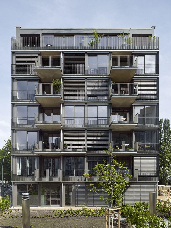 Das mehrdeutige gesicht baugruppenprojekt von roedig for Minimalismus architektur