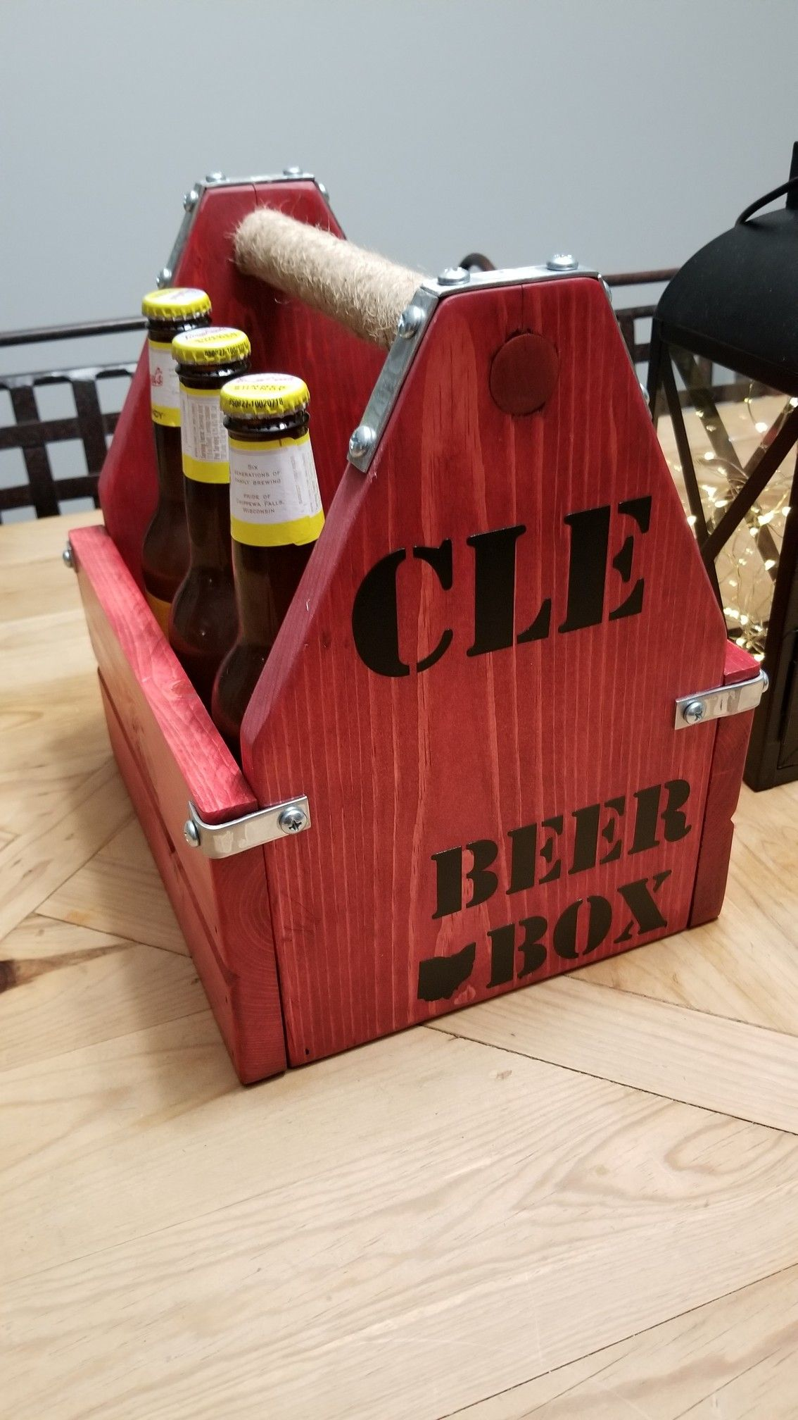 Cle Ohio Red Barn Beer Box Beer Box Vinyl Lettering Red Barn