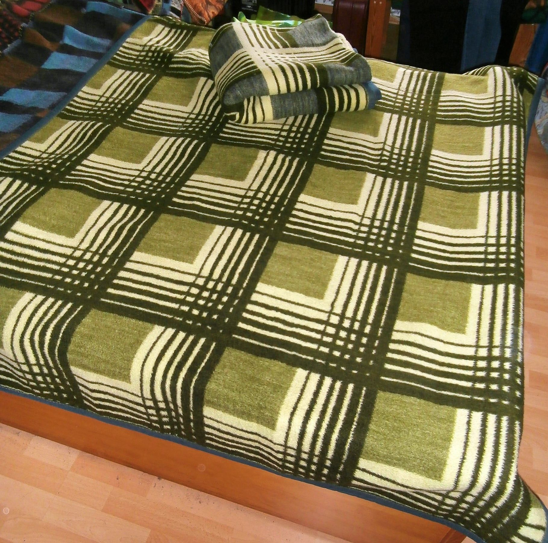 Prop Woolblanket Retroblankets Blanketmuseum Instagram 50s 60s Production Oudedekens Vintageblanket Vintagedeken Retrode Wolldecke Flauschig Decken