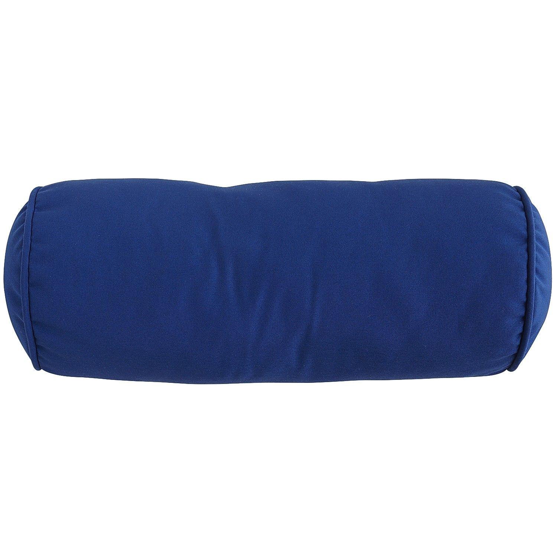 Tremendous Cabana Bolster Outdoor Pillow Cobalt Cushion Decor Creativecarmelina Interior Chair Design Creativecarmelinacom