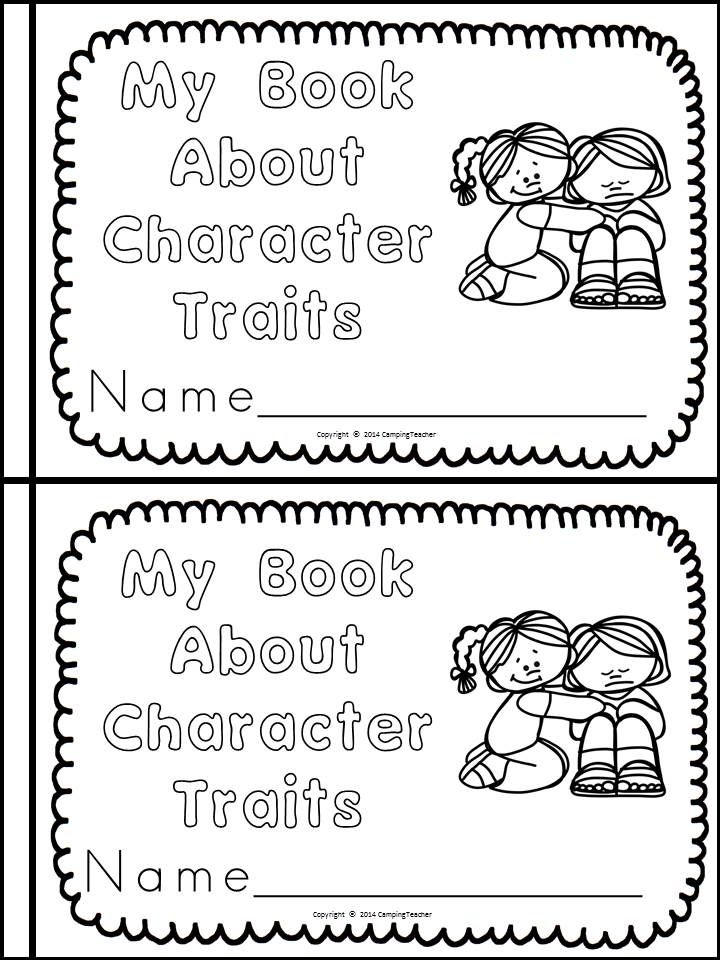 All About Good Character Traits Book, Posters, and