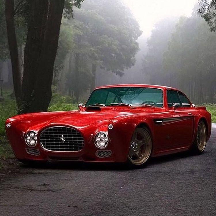 """Ferrari Car Wallpaper: """"Coach-builder Gullwing America's Insane Ferrari F340"""