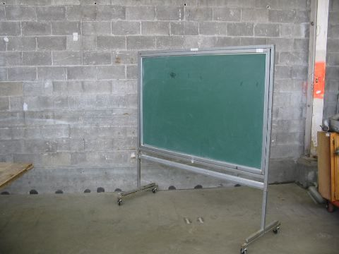 Vintage Rolling Chalkboard | Second Use, Seattle: Building Materials, Salvage, & Deconstruction