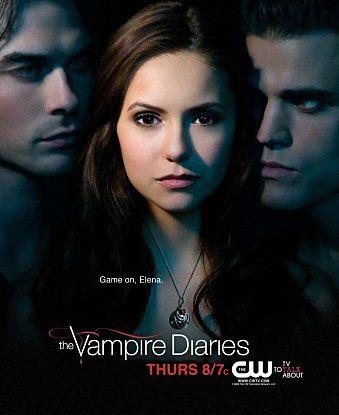 The Vampire Diaries Saison 1 : vampire, diaries, saison, Vampire, Diaries, Série, Damon, Stefan, Diaries,, Poster,, Seasons