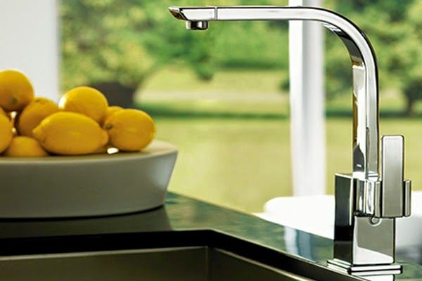 A Kitchen Faucet Worthy Of MoMA. Moenu0027s 90 Degree Kitchen Faucet Combines  Modern Lines And