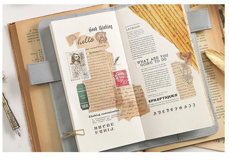 infeel.me和紙膠帶整卷手帳巡航者之歌英文哥特復古地圖地球膠帶