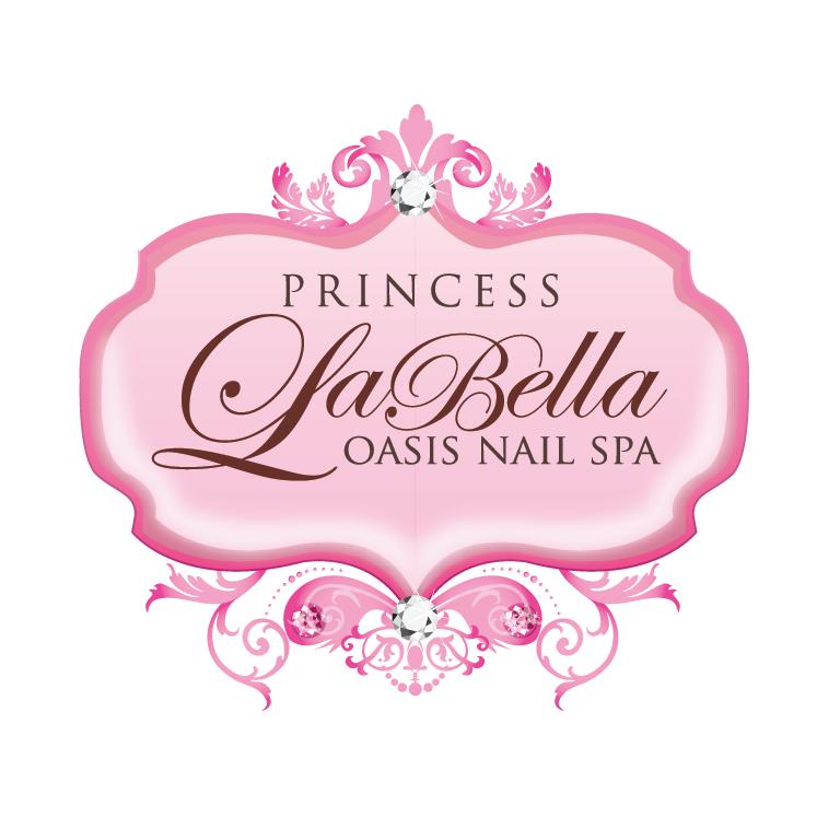 Boutique Logo Design For Proncess La Bella Oasis Nail Spa By