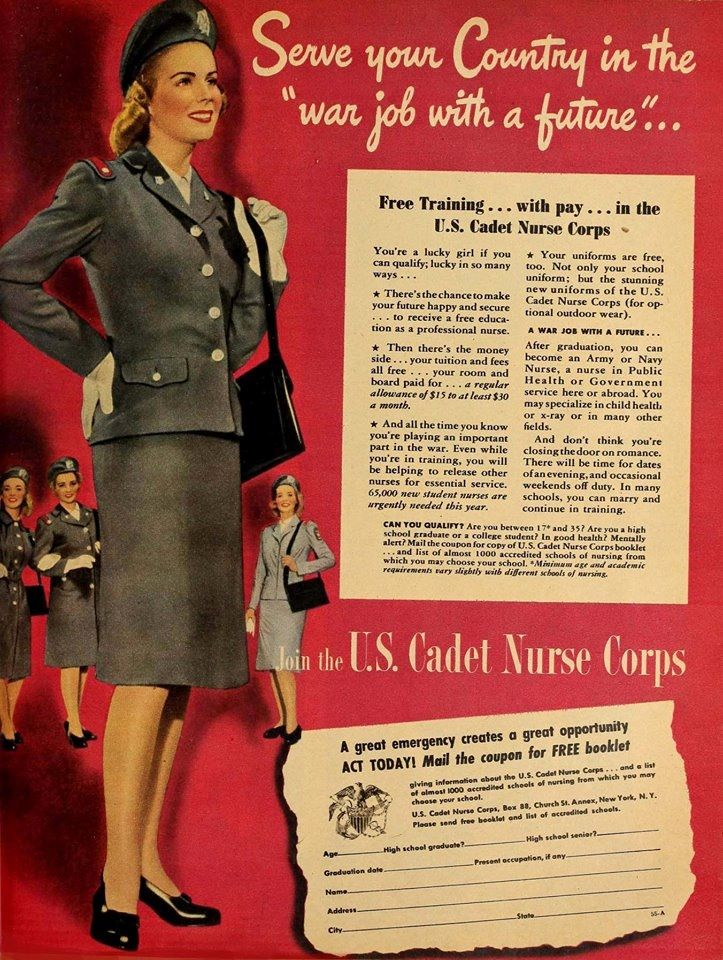 THE UNITED STATES CADET NURSE CORPS was established by