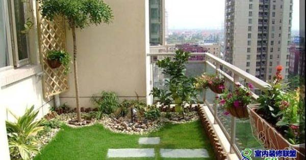Highrise Balcony Ideas New Design 12 On Terrace Garden On 400 x 300