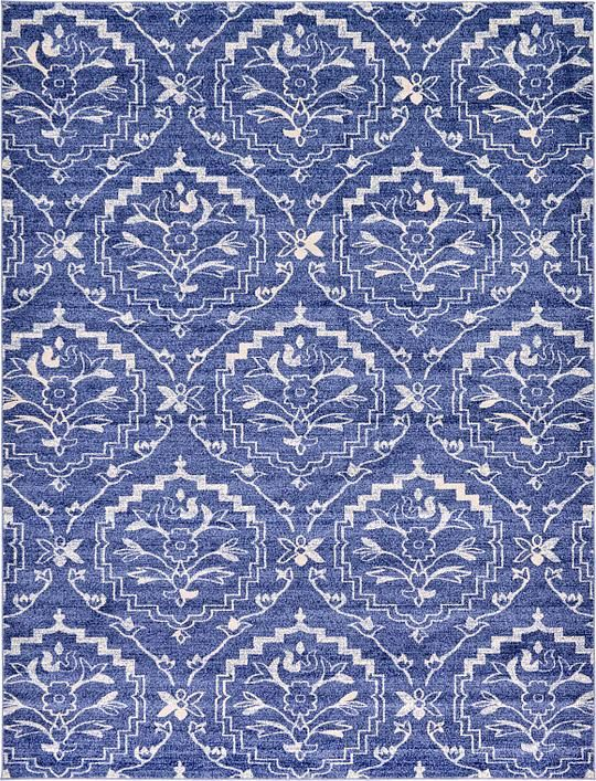 Blue 9 X 12 Damask Rug Area Rugs Damask Rug Area Rugs 5x8 Area Rugs