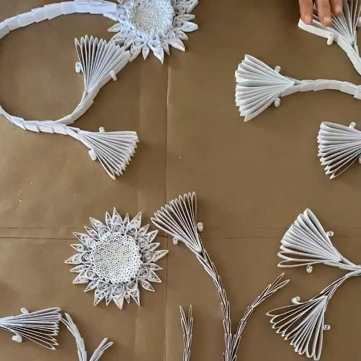 Griffin Carrick Design. Paper quilling