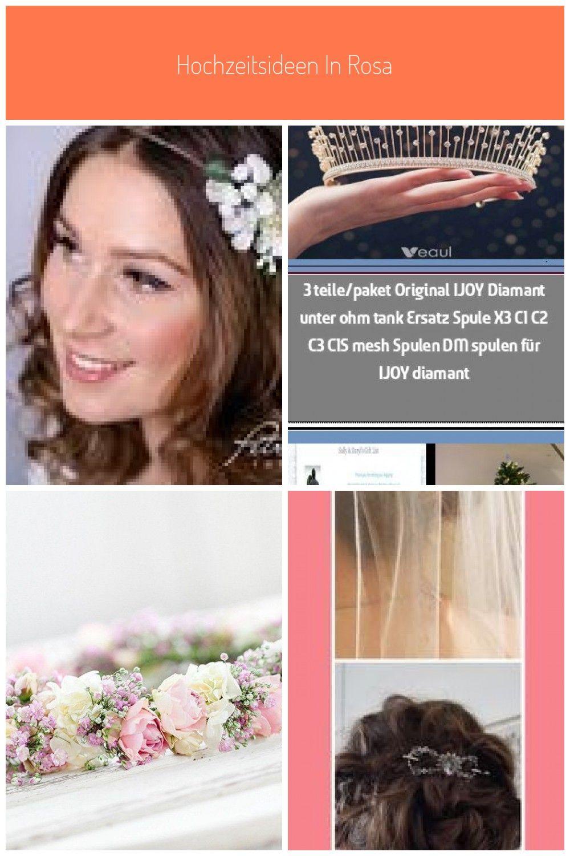Haarbänder – Blumenkranz Blüten Braut Frisur Festival Boho A15 – ein Designers…