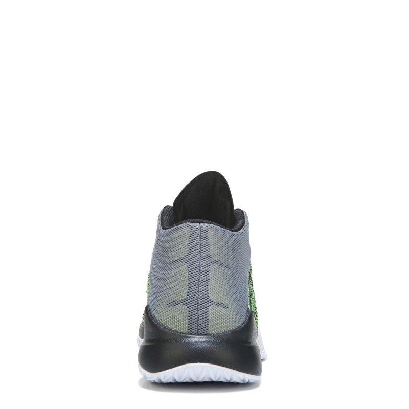 15af9ca7c9f6 Nike Men s Zoom Ascention Basketball Shoes (Cool Grey White Volt) - 12.0 M