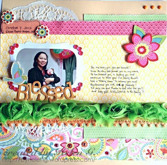 Creating with Love & Joy: Creatively Redeeming Treasures July Blog Hop #Chantilly
