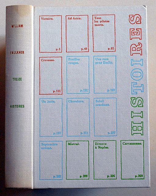 William Faulkner Treize Histoires Portfolio Design William Faulkner Graphic Design