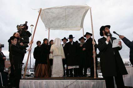 CrownHeights.info » Chasidic Jewish wedding a historic Madison event & CrownHeights.info » Chasidic Jewish wedding a historic Madison ...