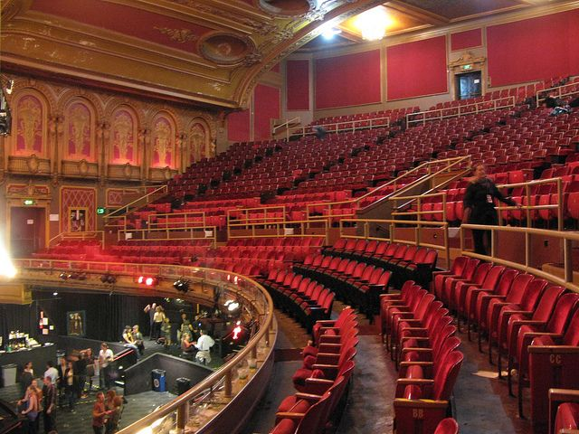 Thewarfield Also Known As The Warfield Theater Is A