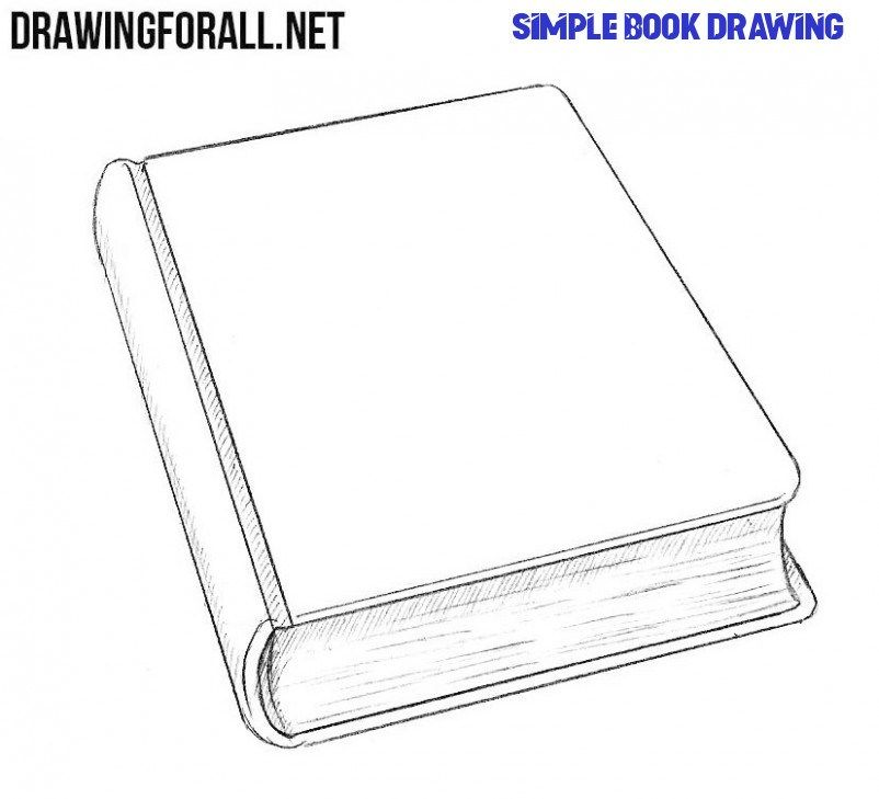 How To Get People To Like Simple Book Drawing In 2020 Book