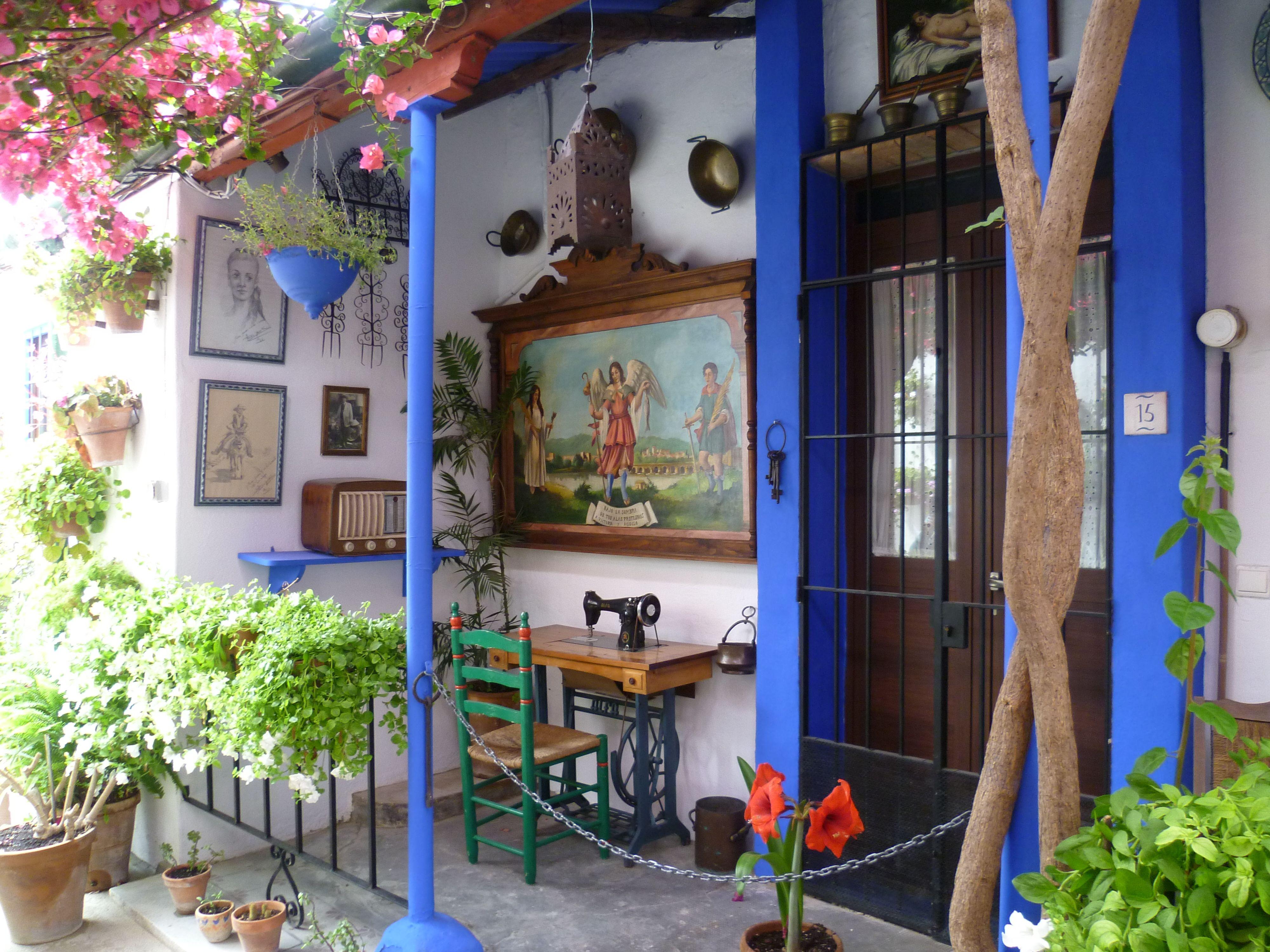 Casa-patio calle Marroquíes, 6.   4. Jardines, Patios, Terrazas ...