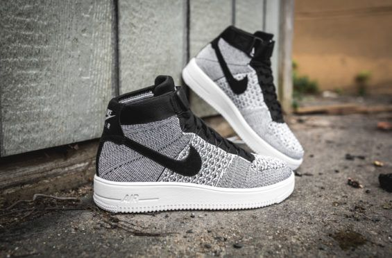 watch a16dd 3f83a Classic Shades On The Nike Air Force 1 Ultra Flyknit Mid