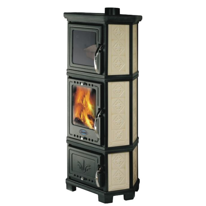 Sideros Stubella Classica Forno Wood Burning Cooking Stove
