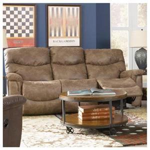 Swell James Reclining Sofa In Silt Nebraska Furniture Mart Sku Gamerscity Chair Design For Home Gamerscityorg