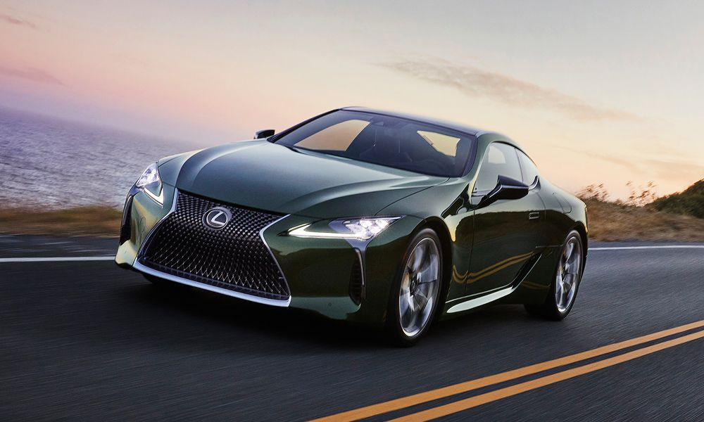 Lexus Is Only Making 100 Of The 2020 Lexus Lc 500 Inspiration Series Cars In 2020 Lexus Lc Lexus Acura Tlx