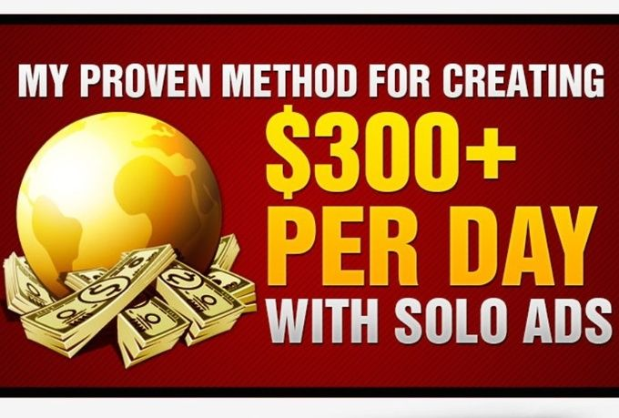 Make $300 per day SOLO Dynamite is a step-by-step course that will show you exactly how to make money instantly using solo ads and advanced list building/email marketing techniques.